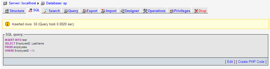 examples: MySQL INSERT INTO SELECT Sub Query Example