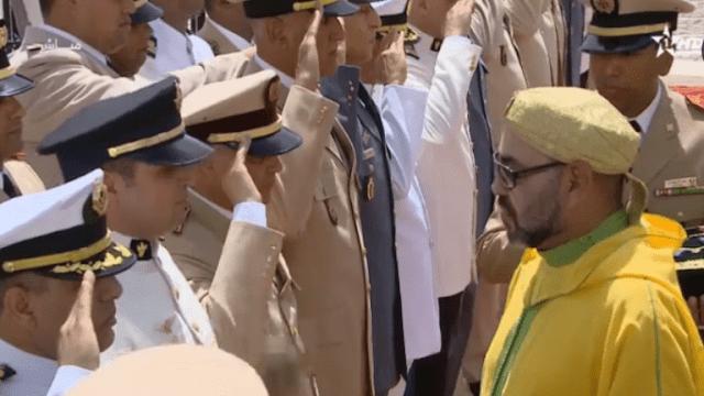 عاش الملك محمد السادس القائد الأعلى ورئيس أركان الحرب العامة للقوات المسلحة الملكية