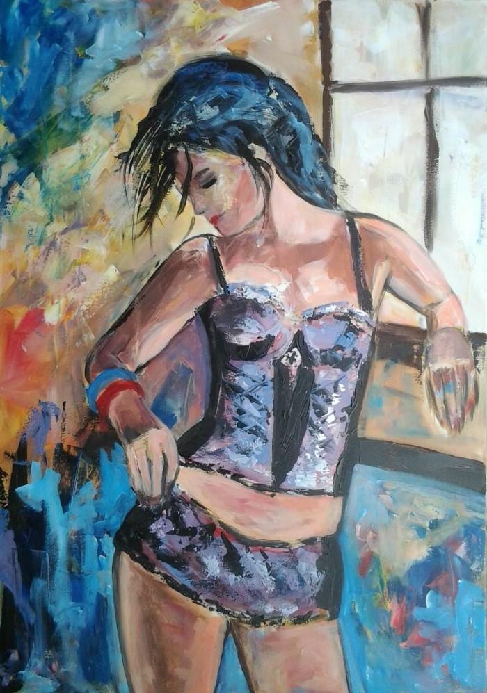 Нидерландский художник. Els Driesen