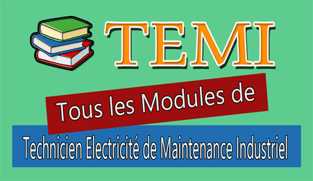 tout les modules de technicien electricite de maintenance industrielle