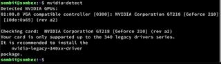 Install Proprietary Nvidia GPU Driver On Debian 10