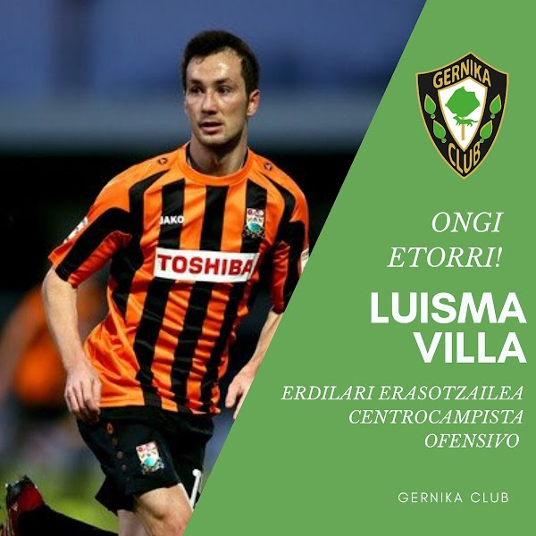 Oficial: Gernika, firma Luisma Villa