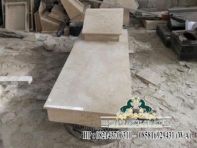 Model Kijing Batu Marmer, Kuburan Makam Minimalis, Kijing Marmer Tulungagung