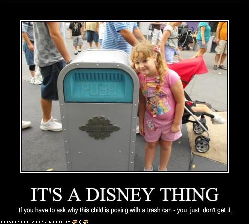 Push the Trashcan, Oh How You Are Missed!