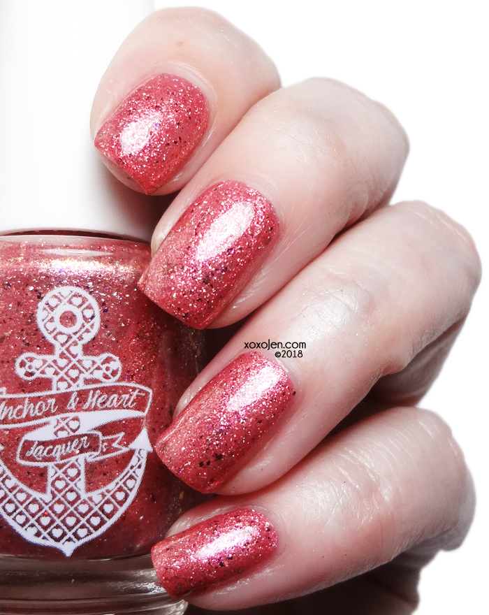 xoxoJen's swatch of Anchor & Heart Lacquer You Are Not Alone