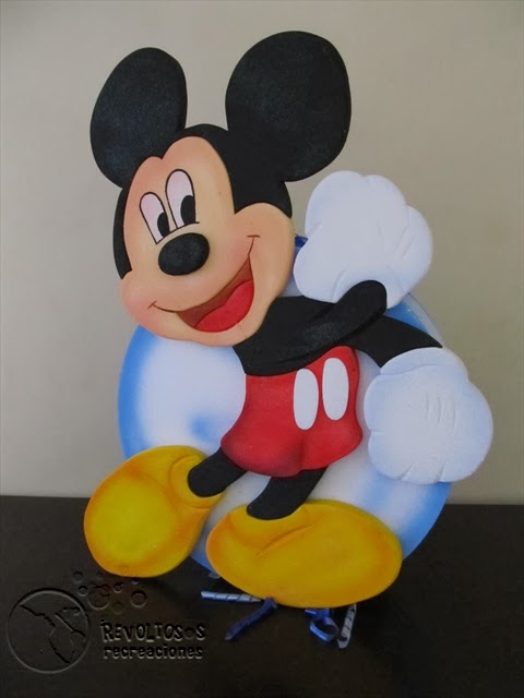 DECORACION FIESTAS INFANTILES MICKEY MOUSE 6 RECREACIONISTAS MEDELLIN