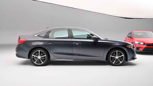التصميم الخارجي لسيارة هوندا سيفيك 2022