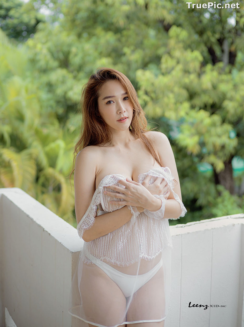 Image Thailand Model - Mananya Benjachokanant - Beautiful In White - TruePic.net - Picture-9