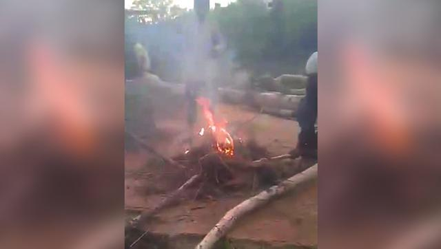 In a horrifying incident of animal abuse, five boys in Hyderabad have been suspected of burning alive three puppies.  The incident occurred in the heart of Hydearabad at Vazir graveyard in Musheerabad area last Saturday evening.  One of the boys took a video of abuse and put that on Facebook, from where it went viral triggering widespread outrage.