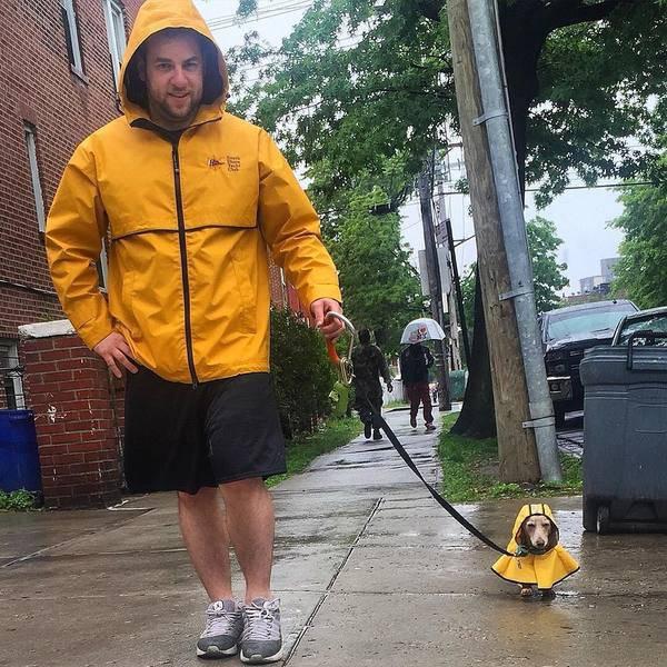 Eu e meu cachorrinho