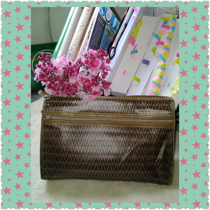 415d13459f The2ndglare: Mario Valentino Leather Vintage Clutch bag