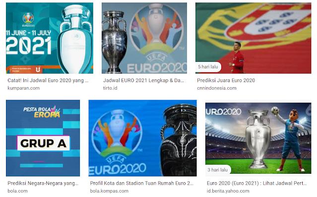 Cara Nonton Sepak Bola Euro 2021 Online dan Gratis