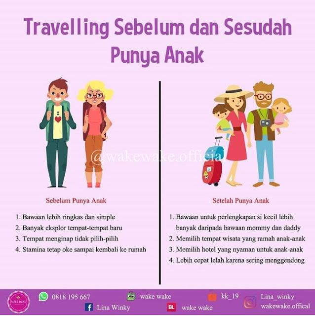 Ini Bedanya Travelling Sebelum dan Sesudah Punya Anak