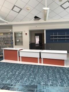 New Information Desk has been installed