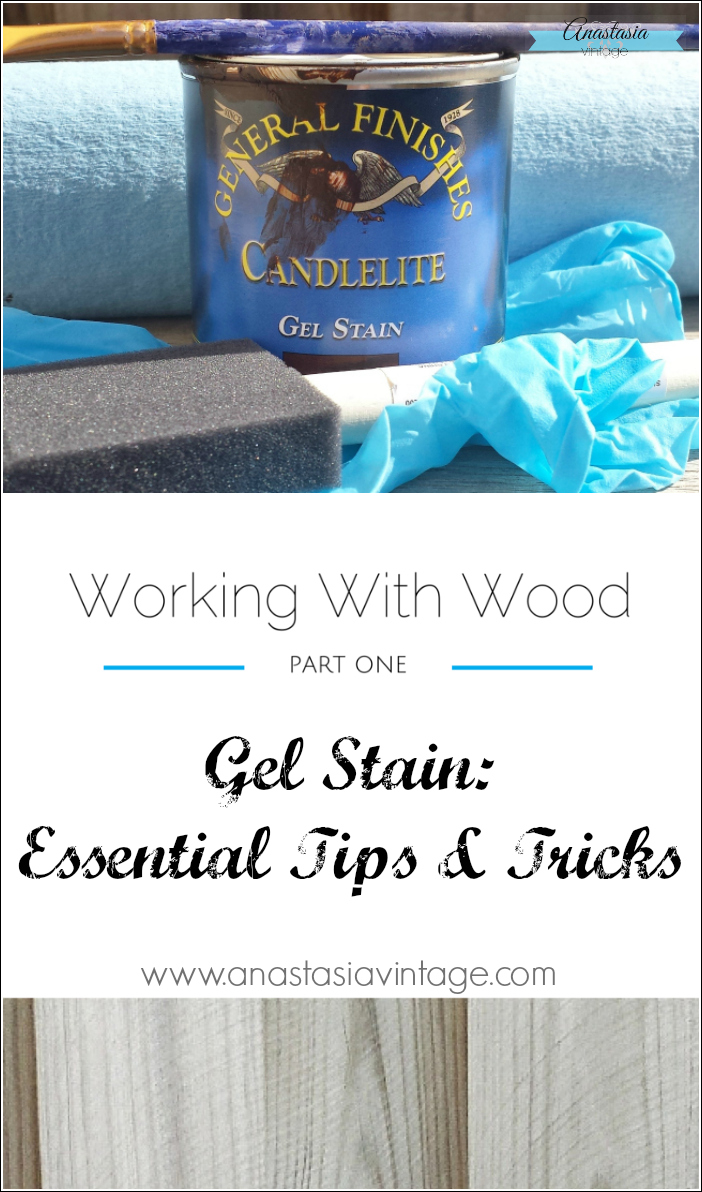 how to use gel stain general finishes beginners wood refinishing