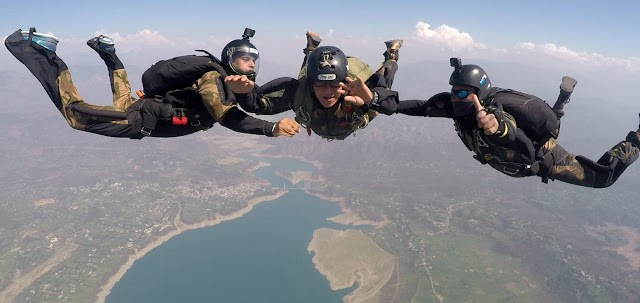 तुर्कमेनिस्तान स्पेशल फोर्सेज़ का भारतीय स्पेशल फोर्सेज़ के प्रशिक्षण स्कूल में कॉम्बैट फ्री फॉल प्रशिक्षण शुरू