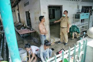 Hari Pertama Kerja Usai Cuti,  Akhyar Langsung Turun Tinjau Kondisi Korban Banjir