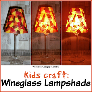 Lampshade wesens-art.blogspot.com