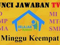 Soal dan Kunci Jawaban SD, SMP, SMA | Jum'at 8 Mei 2020 | Belajar dari Rumah Bersama TVRI