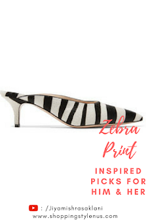 Shopping, Style and Us: India's Best Shopping and Self-Help Blog - Gianvito Rossi 55 Zebra-Print Calf Hair Mules
