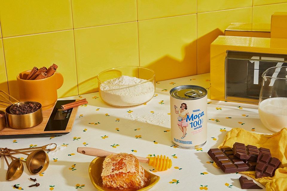 Novas Embalagens Leite Moça – Leite Moça® 100 anos - Foto divulgação