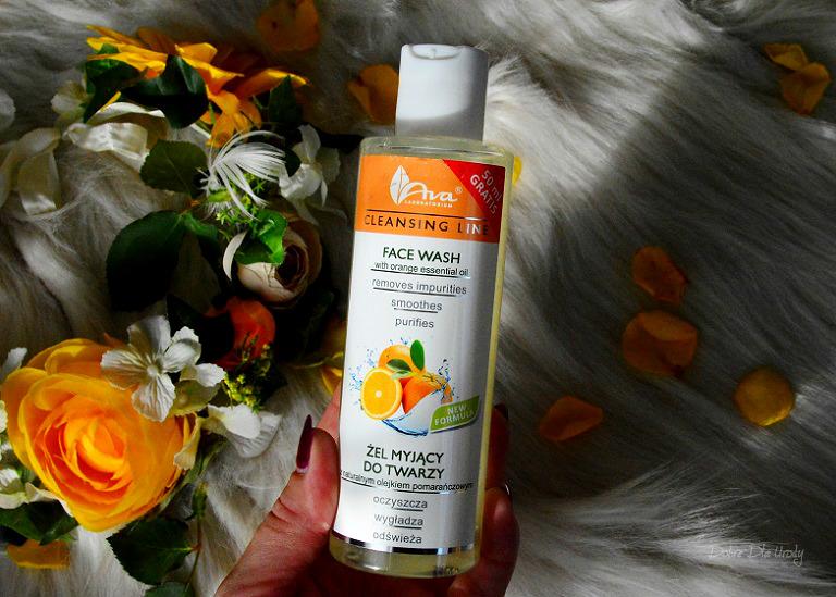 Ava Cleansing Line - Żel myjący do twarzy z Olejkiem Pomarańczowym recenzja