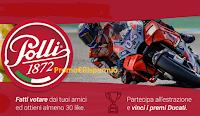 Logo Concorso ''Polli ti premia con Ducati'': vinci gratis 61 premi