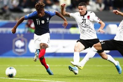 مباراة فرنسا وألبانيا live
