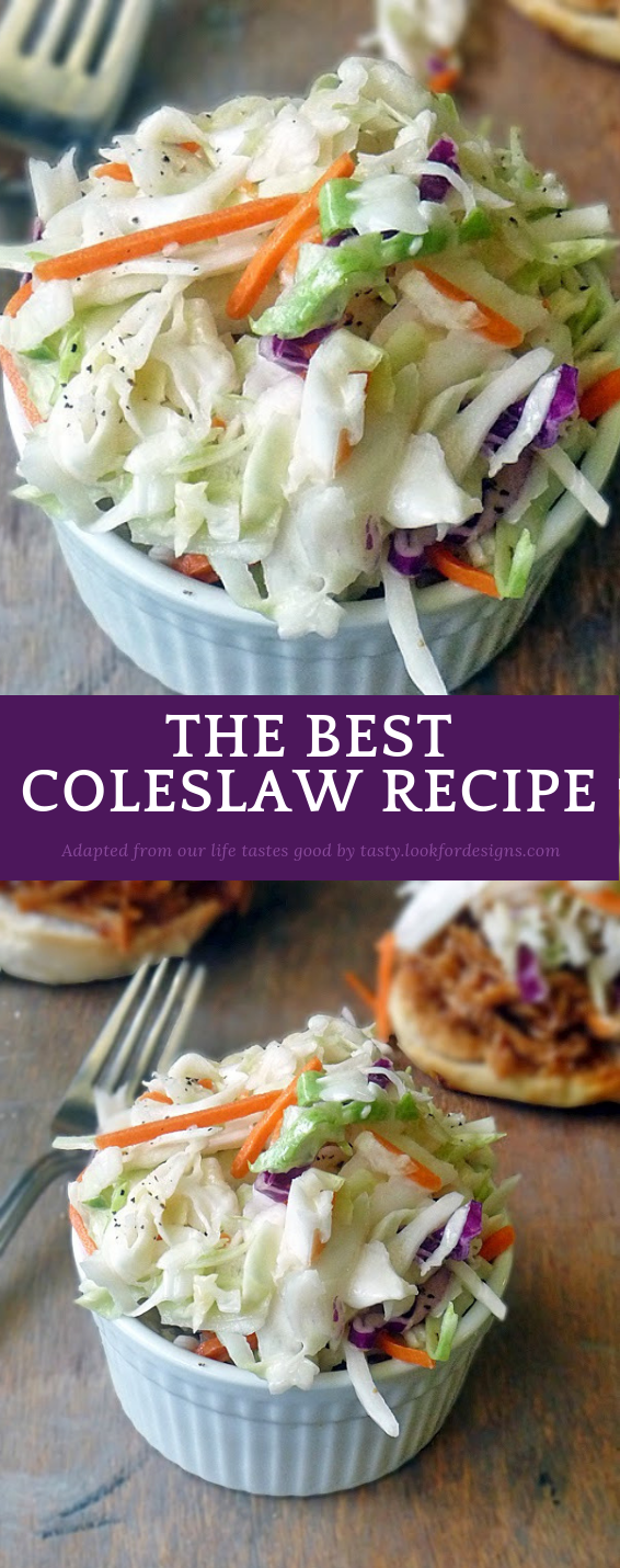 The Best ColeSlaw Recipe