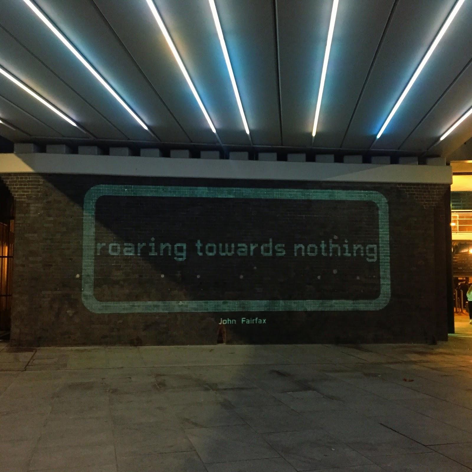 Line of Light: 'Roaring towards nothing' - John Fairfax.
