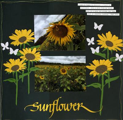 connie nichol, sunflower, quietfire design