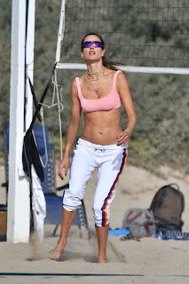 alessandra ambrosio plays beach volleyball 10 24 2020 3