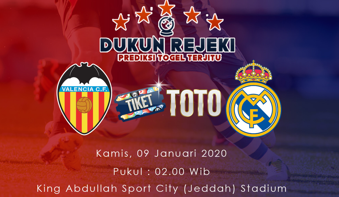 Prediksi Piala Super Spanyol Valencia vs Real Madrid
