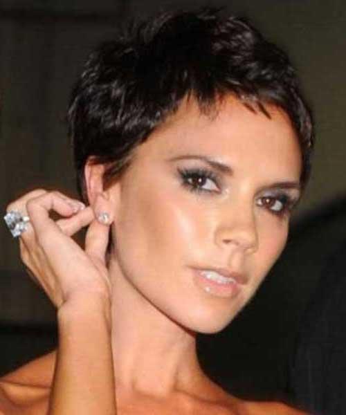 Victoria Beckham Pixie Hairstyle