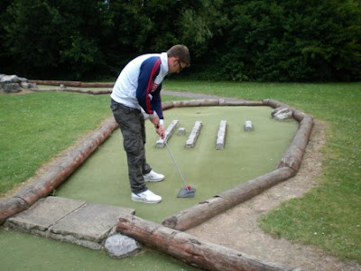 Andover Adventure Golf at Charlton Leisure Centre in July 2011