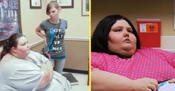 Всего за 2 года девушка похудела с 320 кг до 80 кг