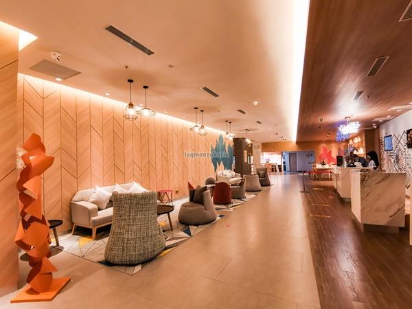 Lobi Hotel Cantik di Kota Bharu