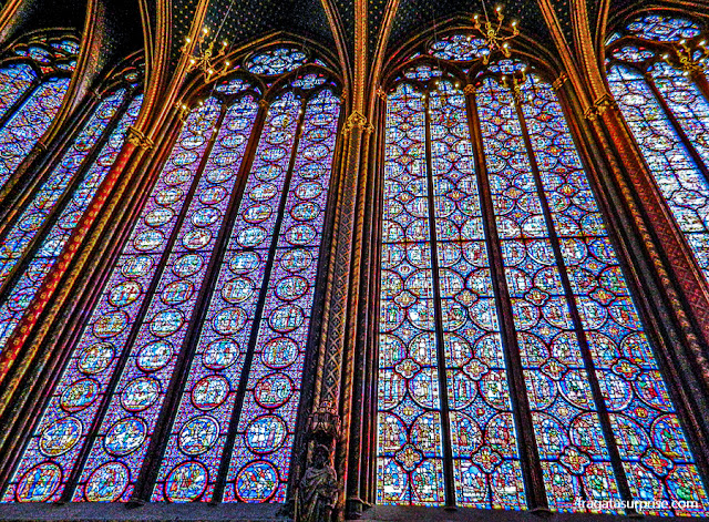 Vitrais da Sainte Chapelle, Paris