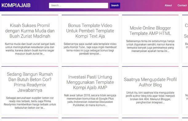 Download Template Premium yang Digunakan Kompi Ajaib Gratis
