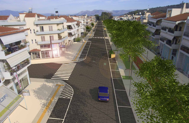 Από την οδό Αιγίου στο Ναύπλιο ξεκινά η υλοποίηση της Στρατηγικής Βιώσιμης Αστικής Ανάπτυξης