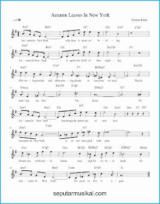 autumn in new york lagu jazz standar
