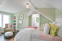 Soothing color idea for bedroom
