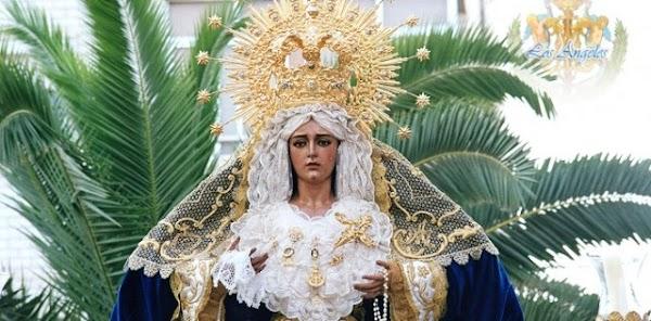 La Hermandad de los Angeles de Almería decide no celebrar su XXV aniversario