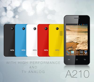 Harga HP Mito Android dibawah 1 Juta - HP Mito A210