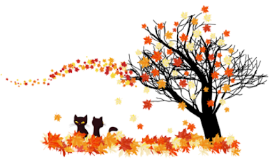 Pet Parade Autumn Divider ©BionicBasil® Cats