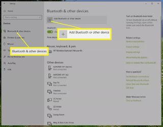 Cara Menghubungkan Mouse Wireless di Windows 10 - 2