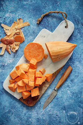 Čorba od batata - slatkog krompira / Sweet potato soup
