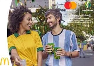 Cadastrar Promoção Mastercard McDonalds Assistir Final Copa América 2019 Tudo Pago