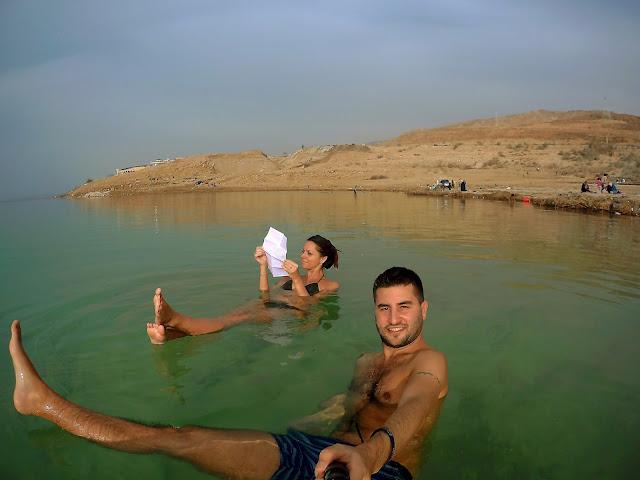 flotar mar muerto