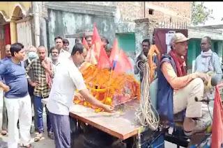 बंदर की मौत पर रोया पूरा गांव, हिंदू रीति-रिवाज से किया गया अंतिम संस्कार